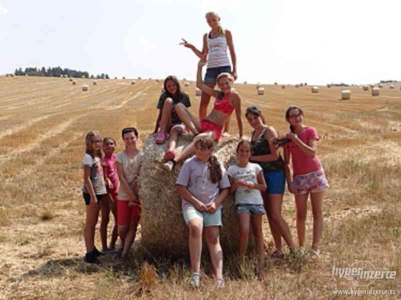 Prázdniny s koňmi- Tábor Koně v Trní - foto 10