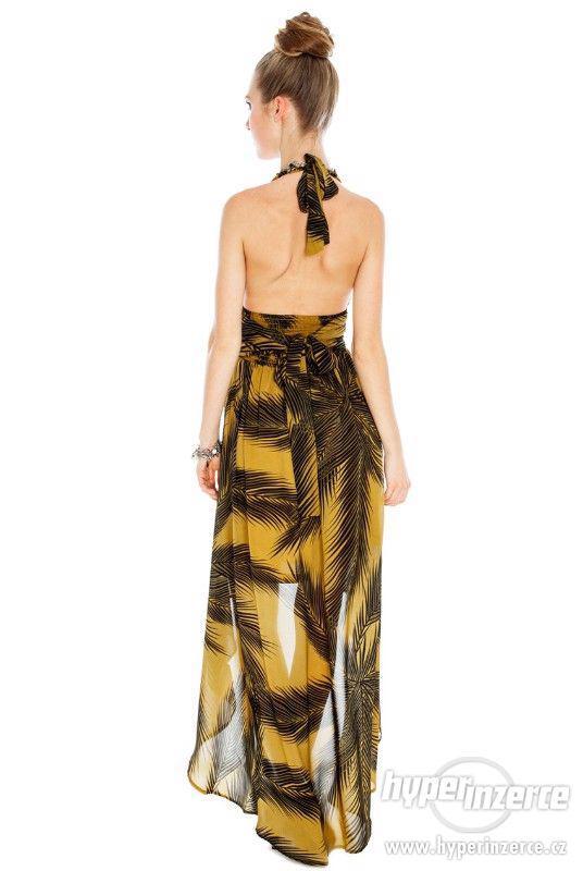 Nové štýlové high low hawaii šaty - foto 2