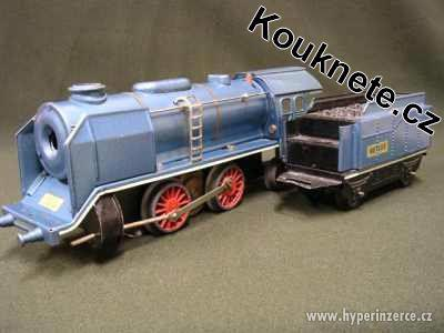 Koupím vlakové soupravy Merkur a parní strojky