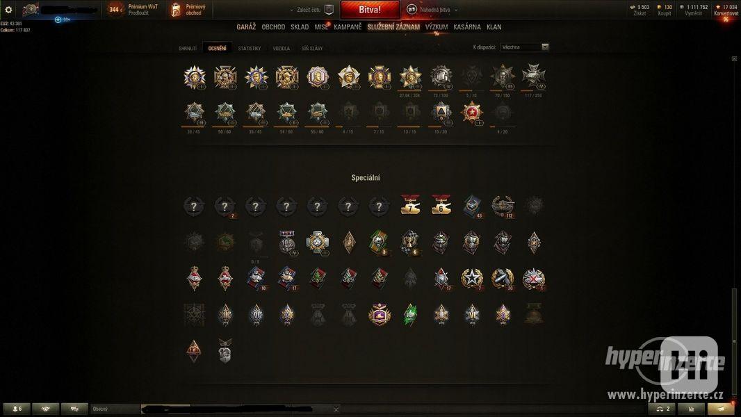 World of Tanks účet - foto 2