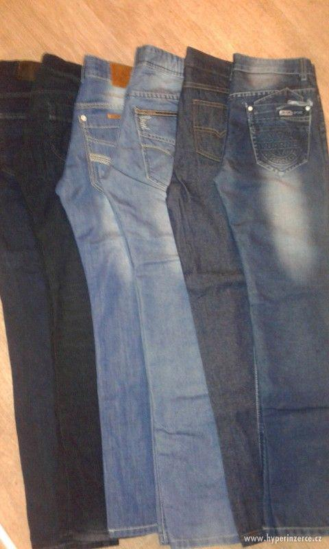 Chlapecké kalhoty vel. 164