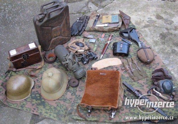 Koupím vojenské věci po německé, rakouské, ruské armádě