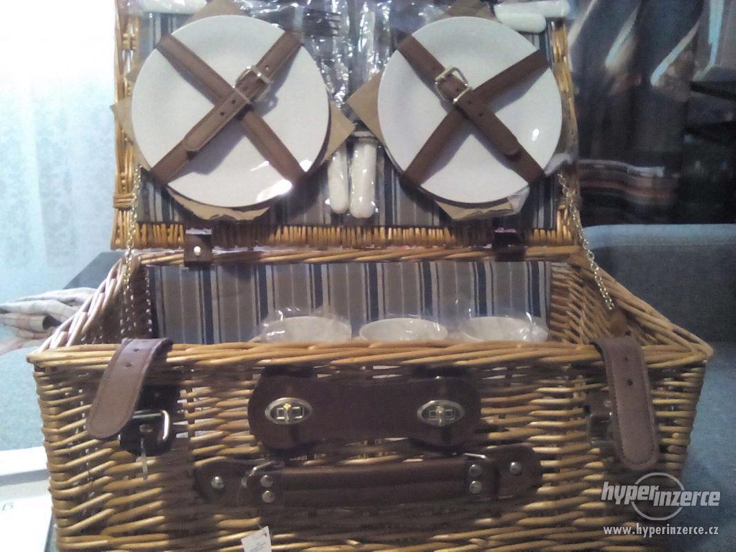Krásný piknikový koš - foto 1