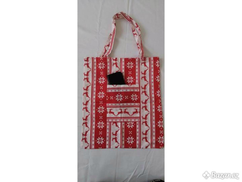 Nákupní taška s kapsou - foto 1