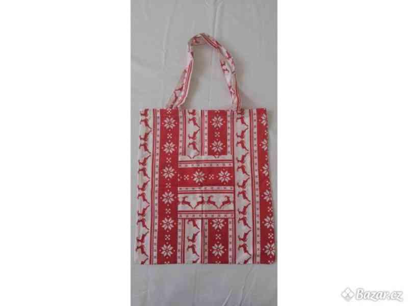 Nákupní taška s kapsou - foto 2