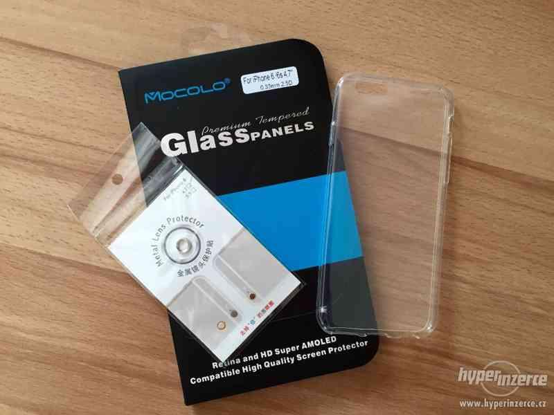 Kryt, tvrzené sklo a ochranné kolečko iPhone 6 / 6S