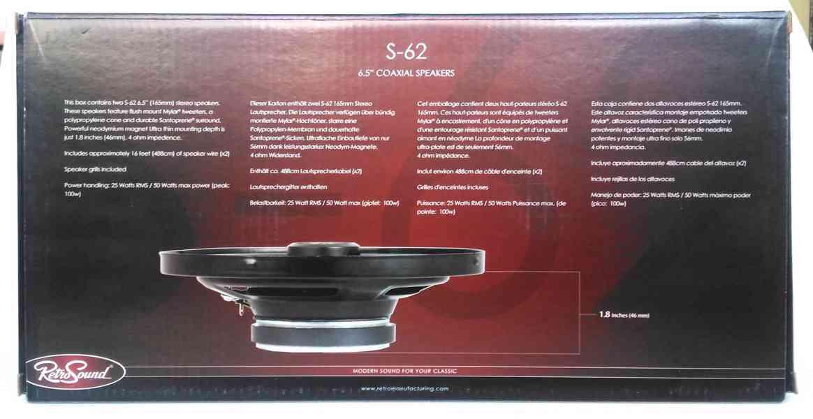Reproduktory RetroSound  16,5cm - foto 6