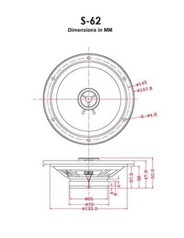 Reproduktory RetroSound  16,5cm - foto 4