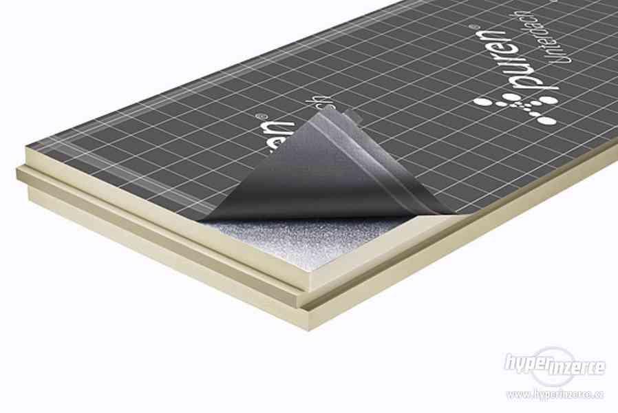 Puren FD-L PIR izolace pro ploché střechy