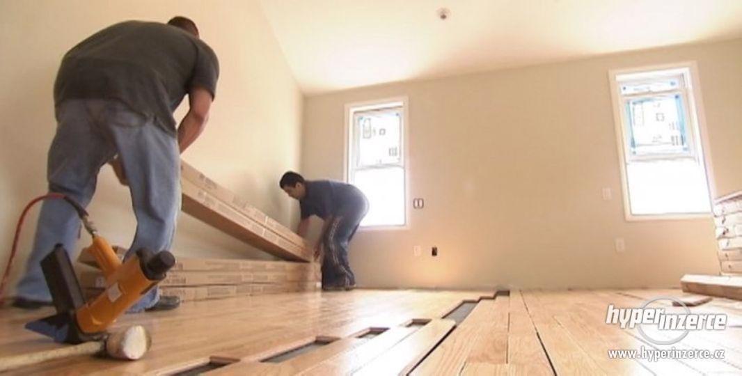 Pokládka a údržba dřevěných podlah a parket