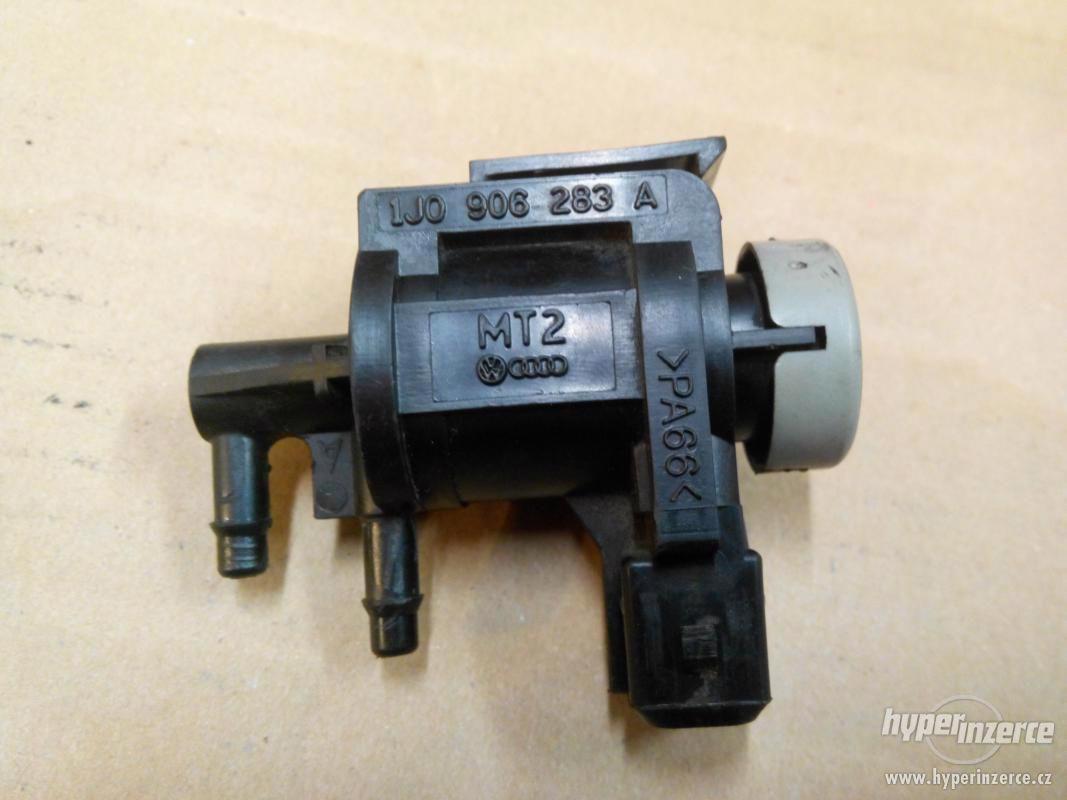 Elektromagnetický tlakový ventil 1J0906283A - foto 1