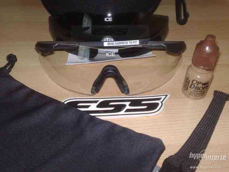 Balistické brýle ESS ICE 2.4 SUPERSET - NOVÉ + ZÁRUKA - foto 1