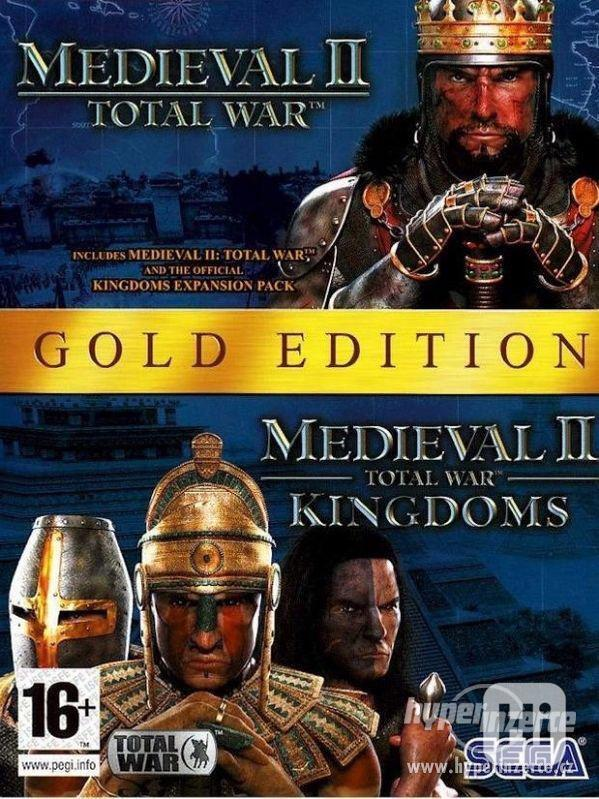 PC hra TOTAL WAR: MEDIEVAL II GOLD EDITION