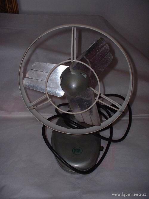 ventilátor PAL, výborný funkční stav