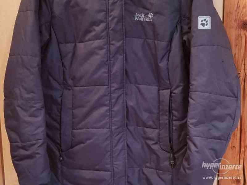 Krásný kabát Jack Wolfskin