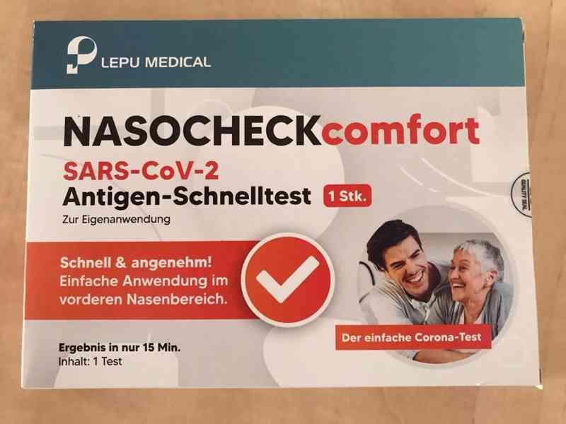 Antigenní test LEPU COMFORT proti Covid.19