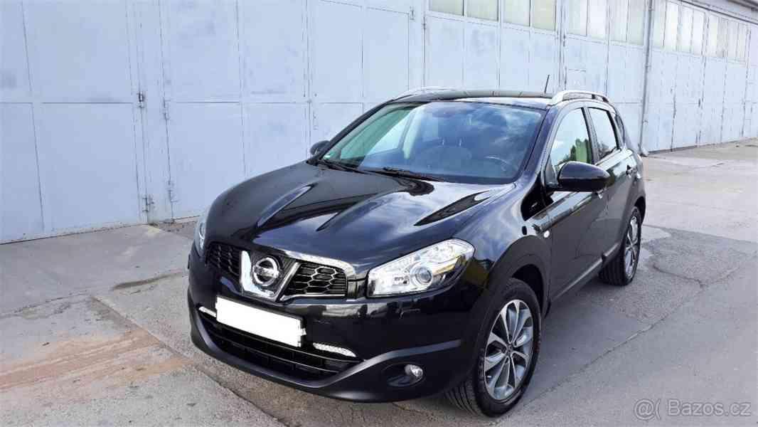 Nissan Qashqai 1,6i 86kw, NAVI, 100% KM