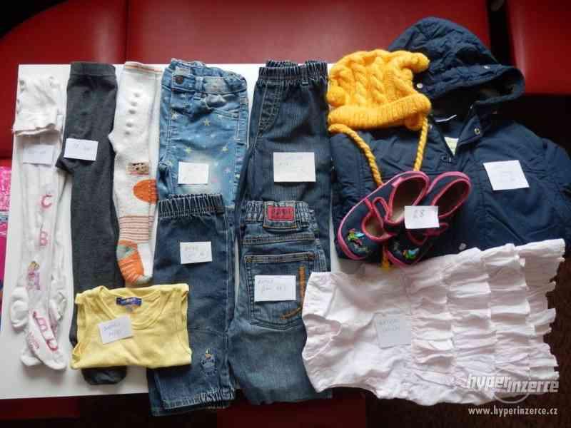 Dětské oblečení různé velikosti - zdarma