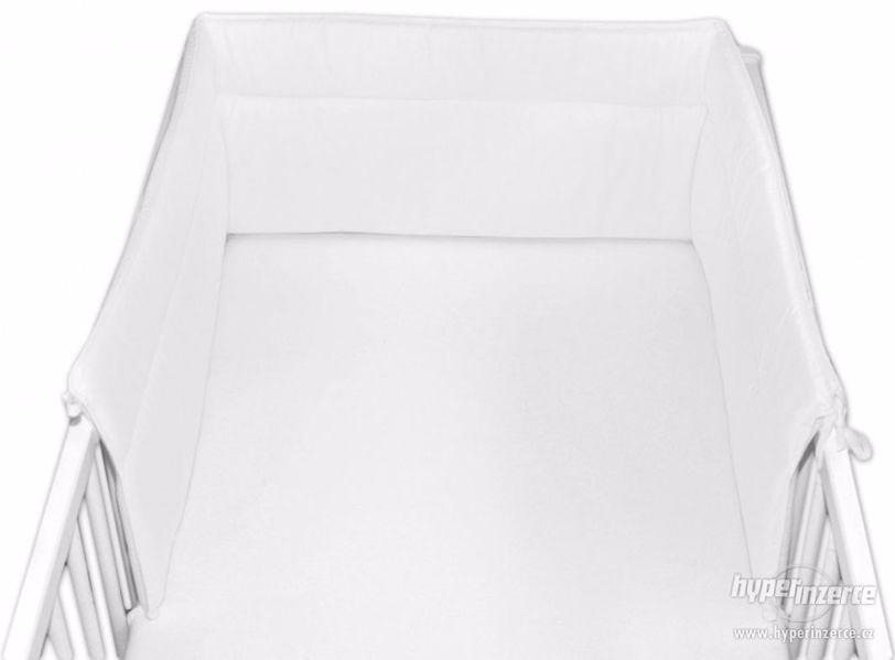 Mantinel do postýlky 30x180 cm - Bílý