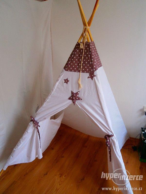 Dětský domeček stan,teepee na přání