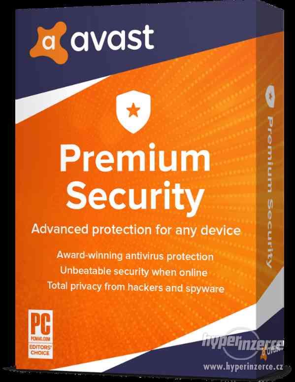 Avast Premium Security 3PC na 3 ROKY antivirus