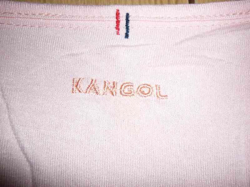 Meruňkový top Kangol - foto 3
