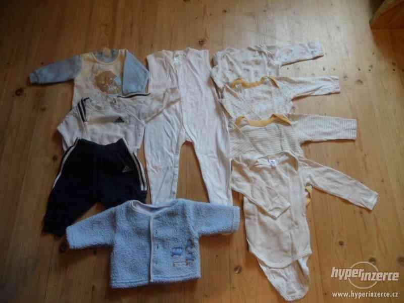 Prodám sadu oblečení pro chlapečka vel. 68-74