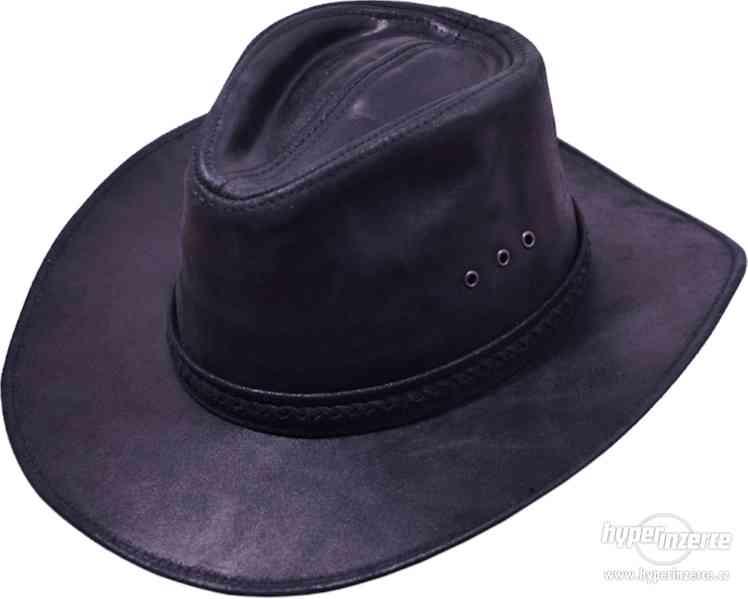 westernové Kožené klobouky
