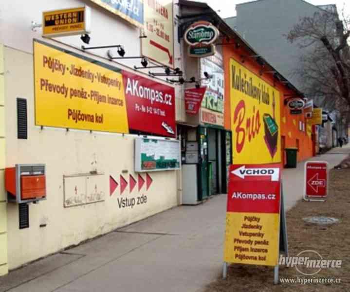 AKompas Brno - PPL Parcel Shop, WeDo Uloženka, DPD Pickup