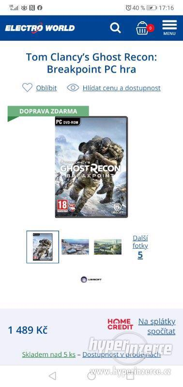 Tom Clancys Ghost Recon Breakpoint PC - foto 1