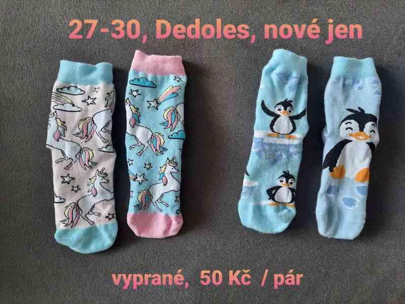 Nové dětské ponožky Dedoles