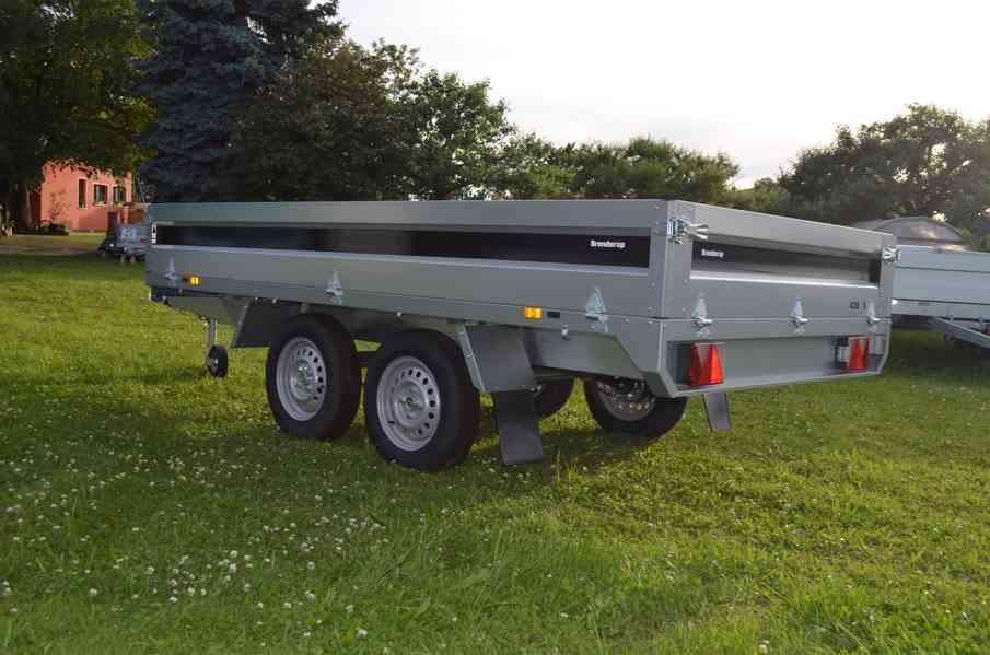 Brenderup 4310 TB- 309x169, 2000kg- přívěsný vozík - foto 3