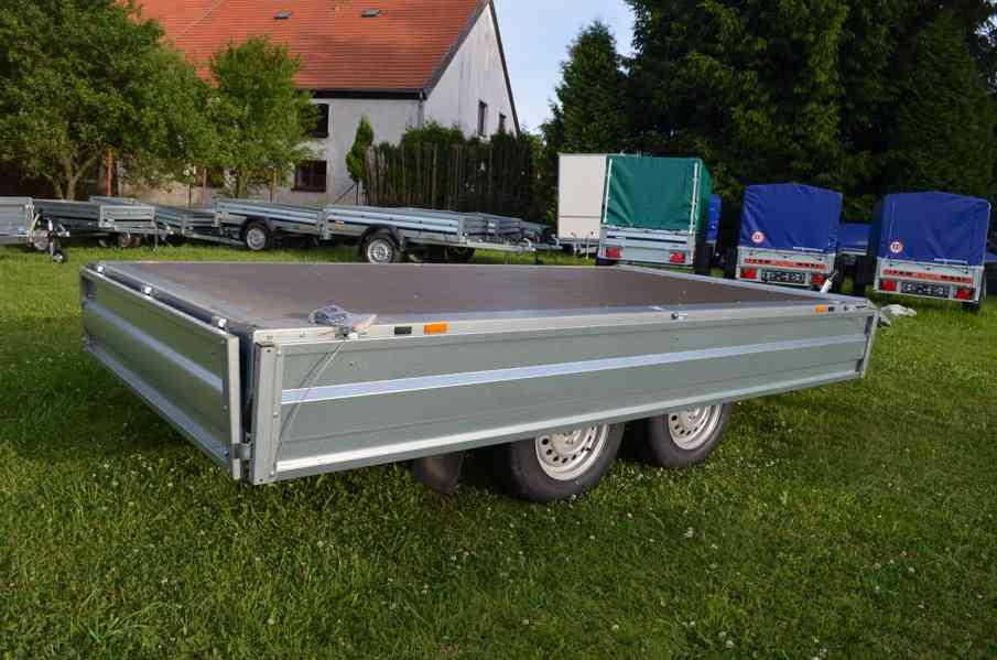 Brenderup 4310 TB- 309x169, 2000kg- přívěsný vozík - foto 6
