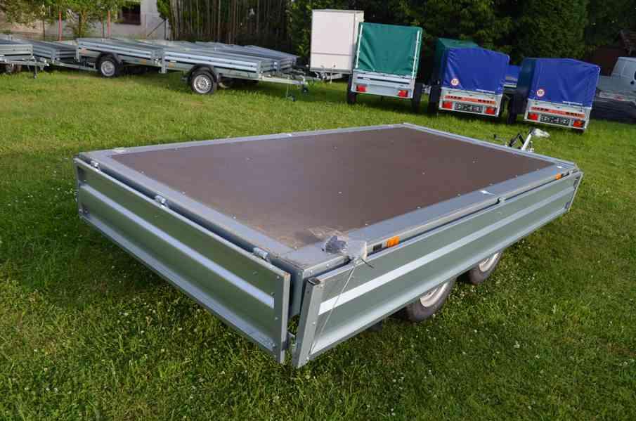 Brenderup 4310 TB- 309x169, 2000kg- přívěsný vozík - foto 7