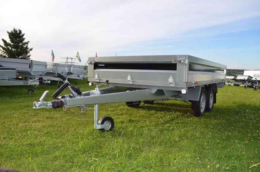 Brenderup 4310 TB- 309x169, 2000kg- přívěsný vozík - foto 1