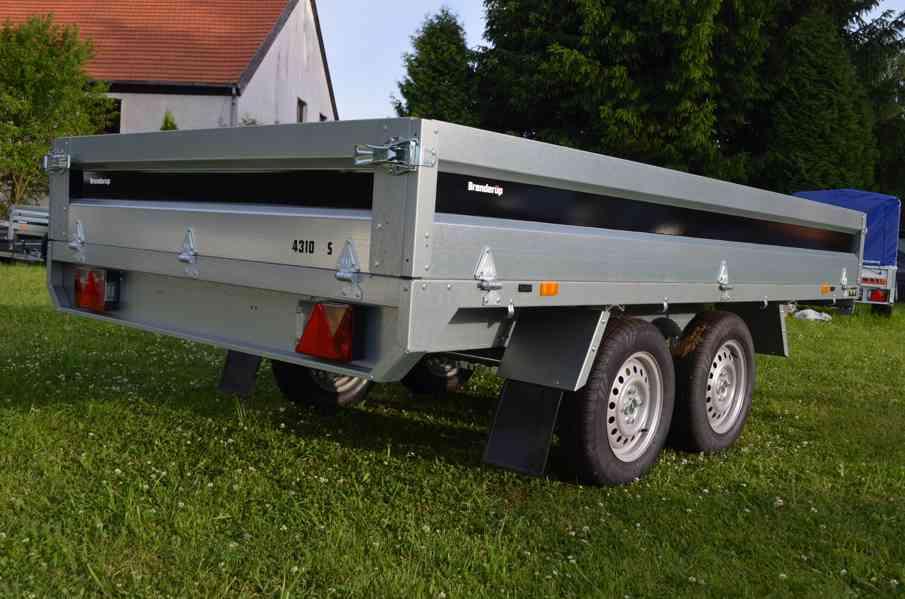 Brenderup 4310 TB- 309x169, 2000kg- přívěsný vozík - foto 4