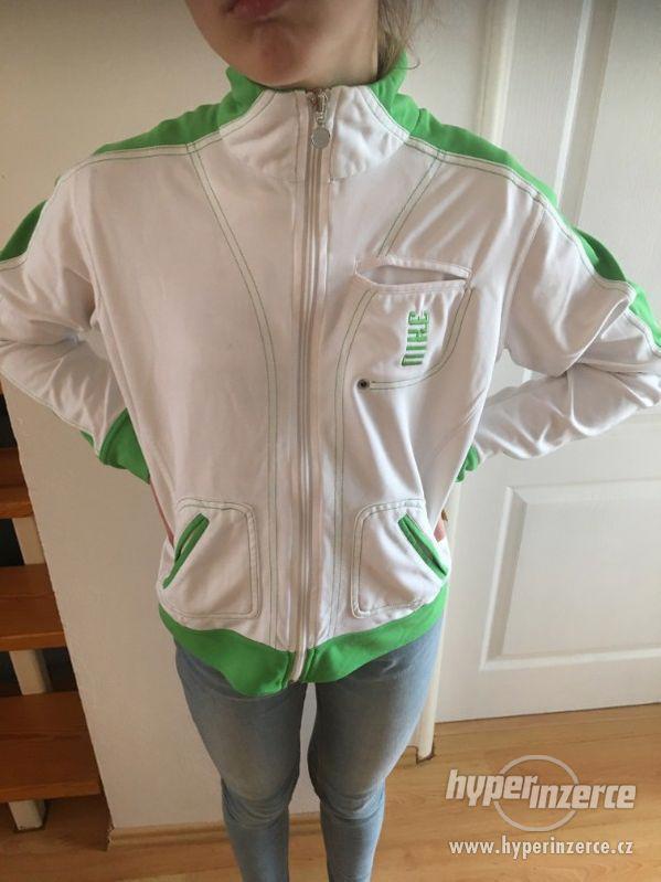 Dívčí značková bunda od NIKE z USA, S - foto 1