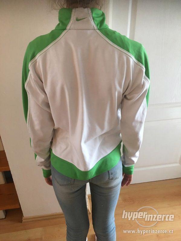 Dívčí značková bunda od NIKE z USA, S - foto 2