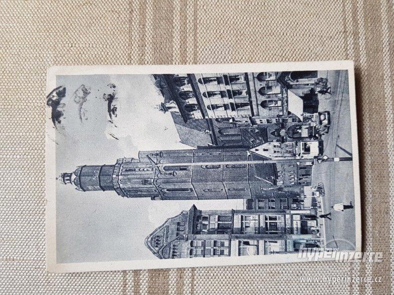 Retro pohlednice z r. 1942