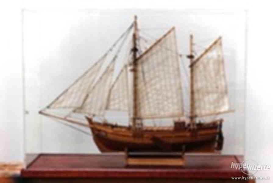 Dřevěný model lodě ELBE 1895