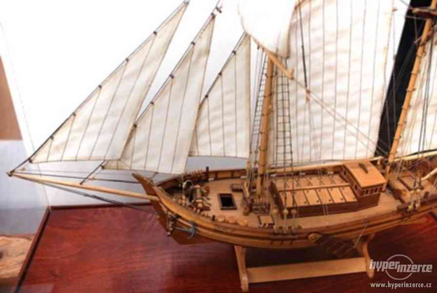 Dřevěný model lodě ELBE 1895 - foto 2