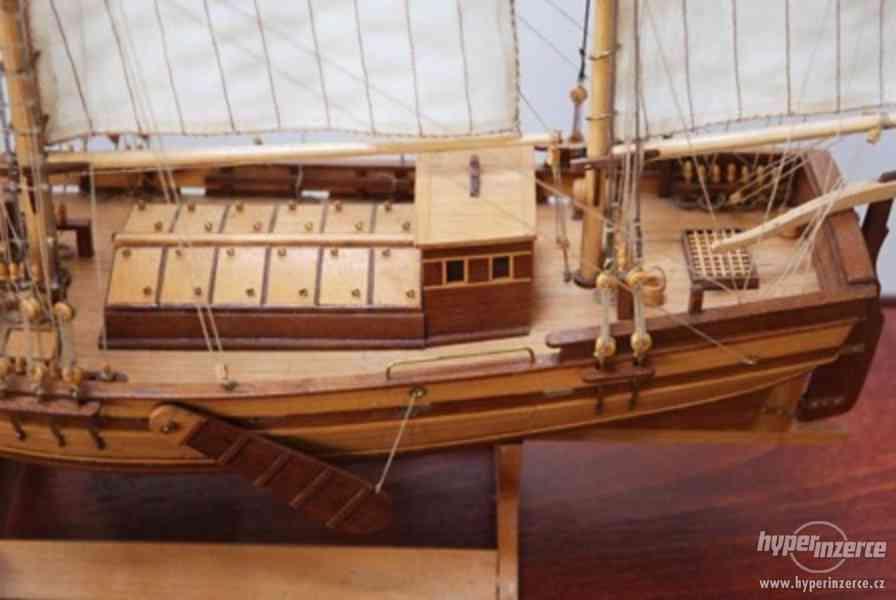 Dřevěný model lodě ELBE 1895 - foto 3