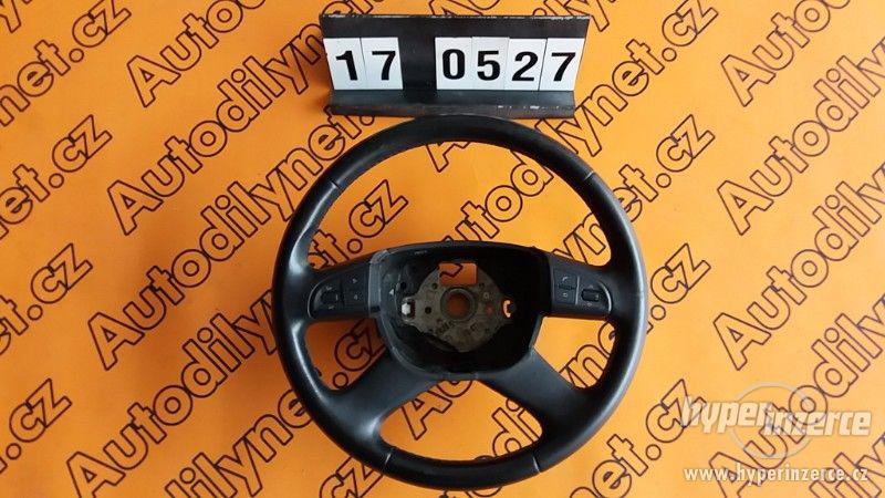 Kožený volant multifunkční Škoda Octavia II 1Z0 419 091 M