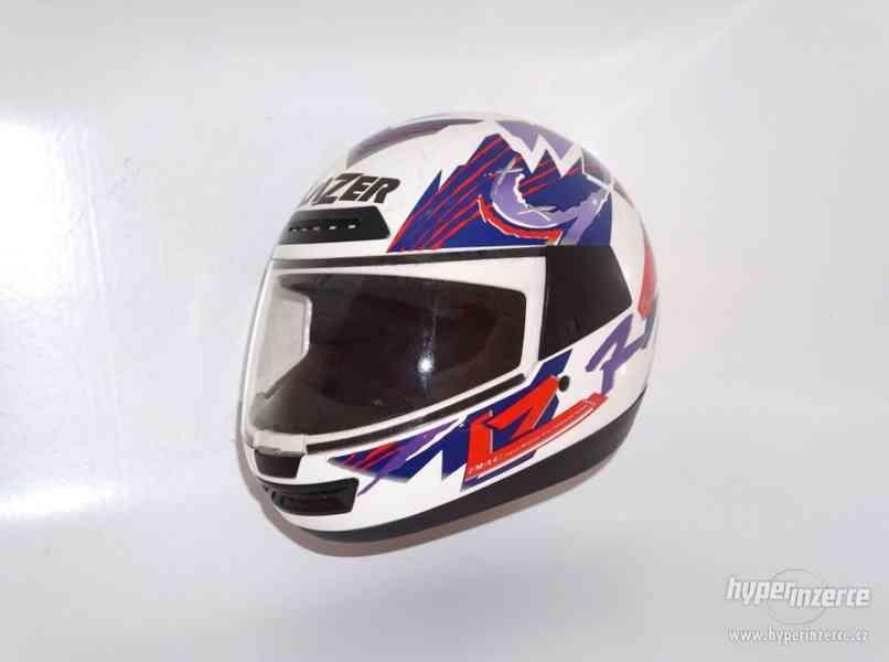 Helma na motorku XL motocyklová přilba Lazer vel. XL 62cm. - foto 1