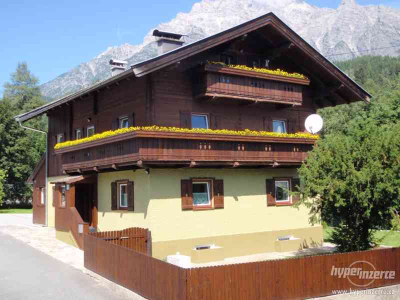 Pronájem apartmánů v Rakousku - Alpy