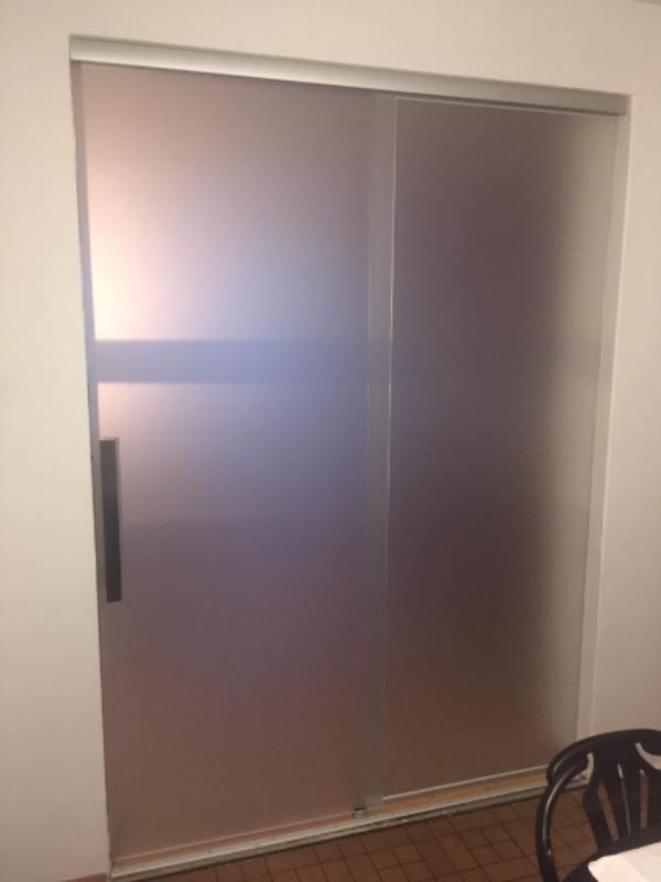 celoskleněné dveře - foto 1