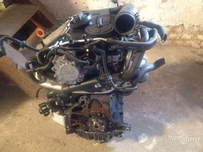 Prodám kompletní motor viz. foto, 2,0 103kw, BKD - foto 1