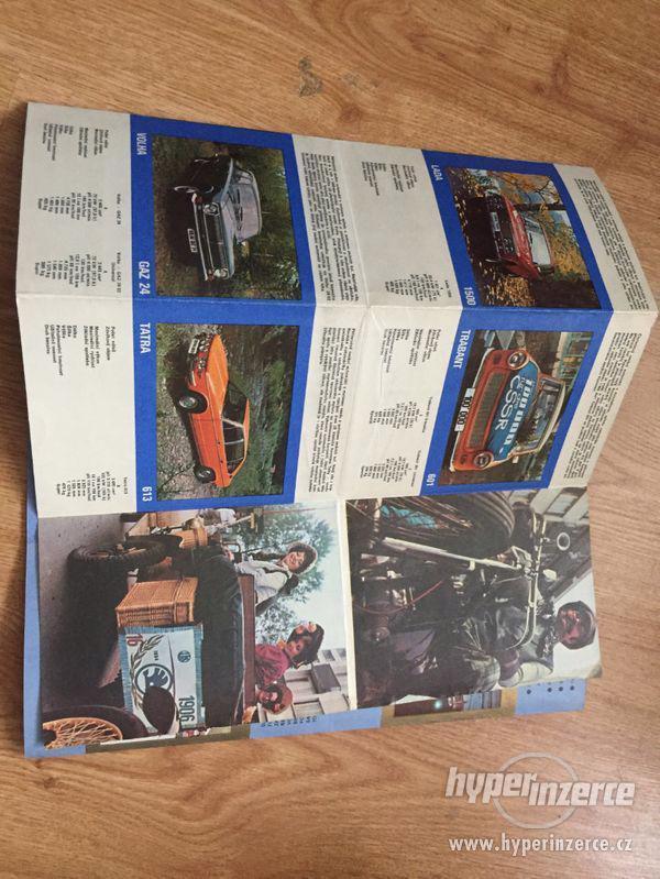 Mototechna katalog prodávaných aut 1977 - foto 3
