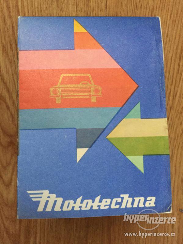 Mototechna katalog prodávaných aut 1977 - foto 4