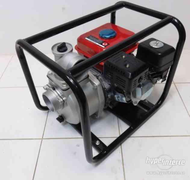 Benzínová vodní pumpa čerpadlo 60.000 l/h - foto 1